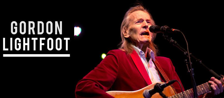 Gordon Lightfoot at Foellinger Theatre
