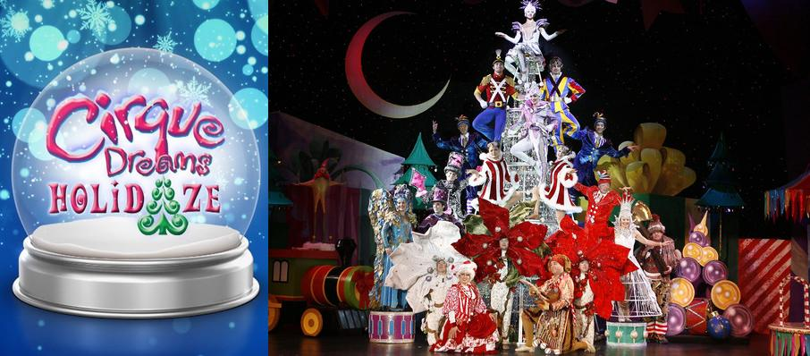 Cirque Dreams Holidaze at Embassy Theatre