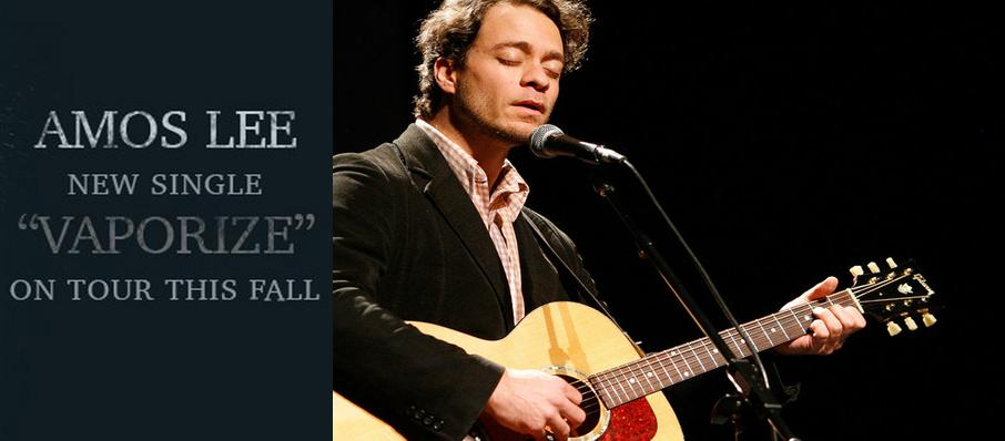 Amos Lee at Auer Performance Hall