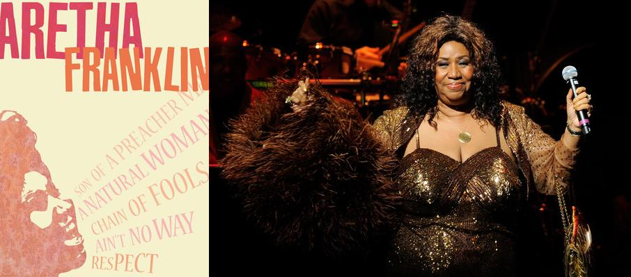 Aretha Franklin at Foellinger Theatre