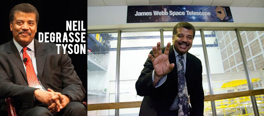 Neil DeGrasse Tyson at Embassy Theatre
