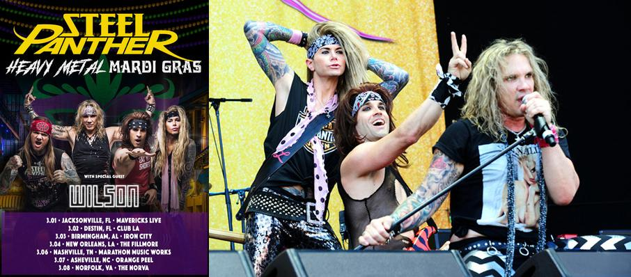 Steel Panther at Piere's