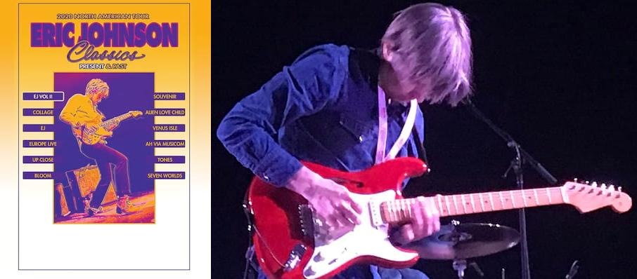 Eric Johnson at Clyde Theatre