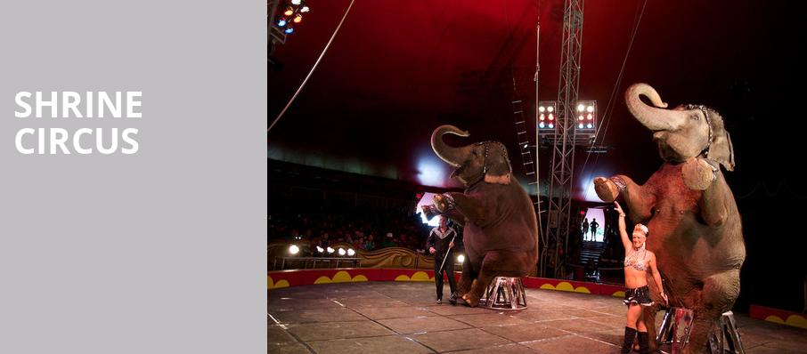 Shrine Circus, Allen County War Memorial Coliseum, Fort Wayne