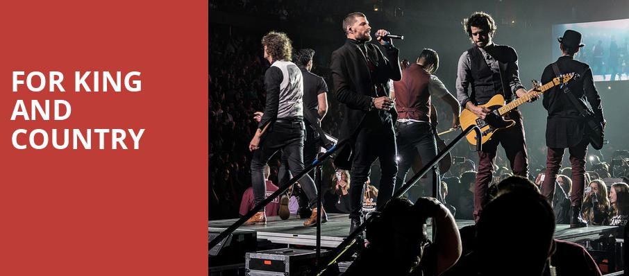 For King And Country, Allen County War Memorial Coliseum, Fort Wayne