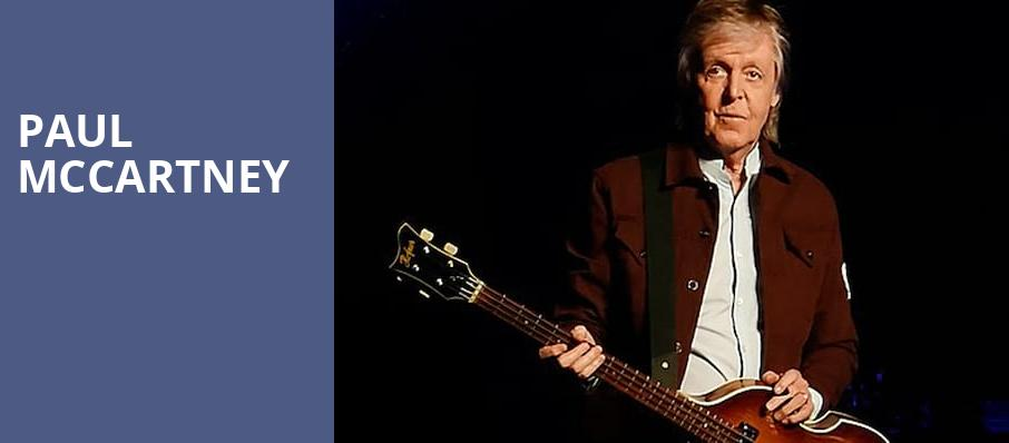 Paul McCartney, Allen County War Memorial Coliseum, Fort Wayne