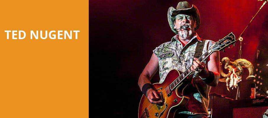Ted Nugent, Foellinger Theatre, Fort Wayne