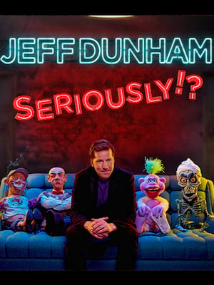 Jeff Dunham, Embassy Theatre, Fort Wayne
